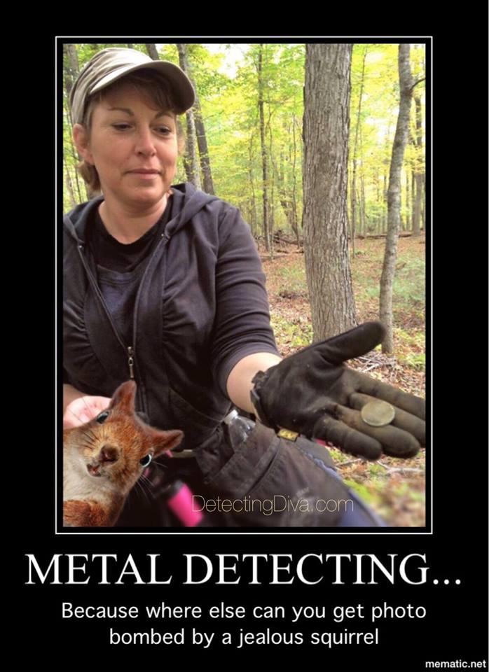 squirrel bomb – Detecting Diva Squirrel Dick